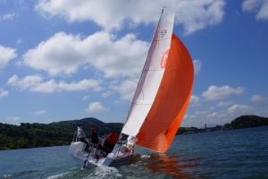 Training auf der Bundesliga Sunbeam 22.1 - Segelschule Sailsports