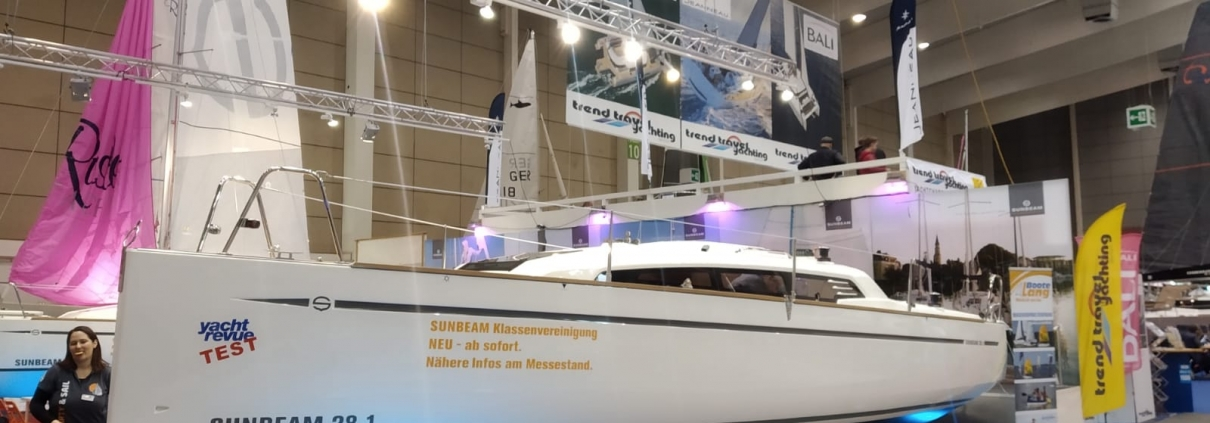 Sunbeam 28 Segelbundesliga Segelschule Sailsports